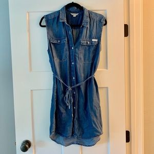 Calvin Klein chambray dress/tunic
